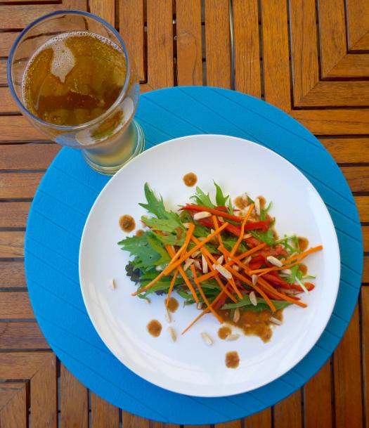 Sriracha Peanut Vinaigrette