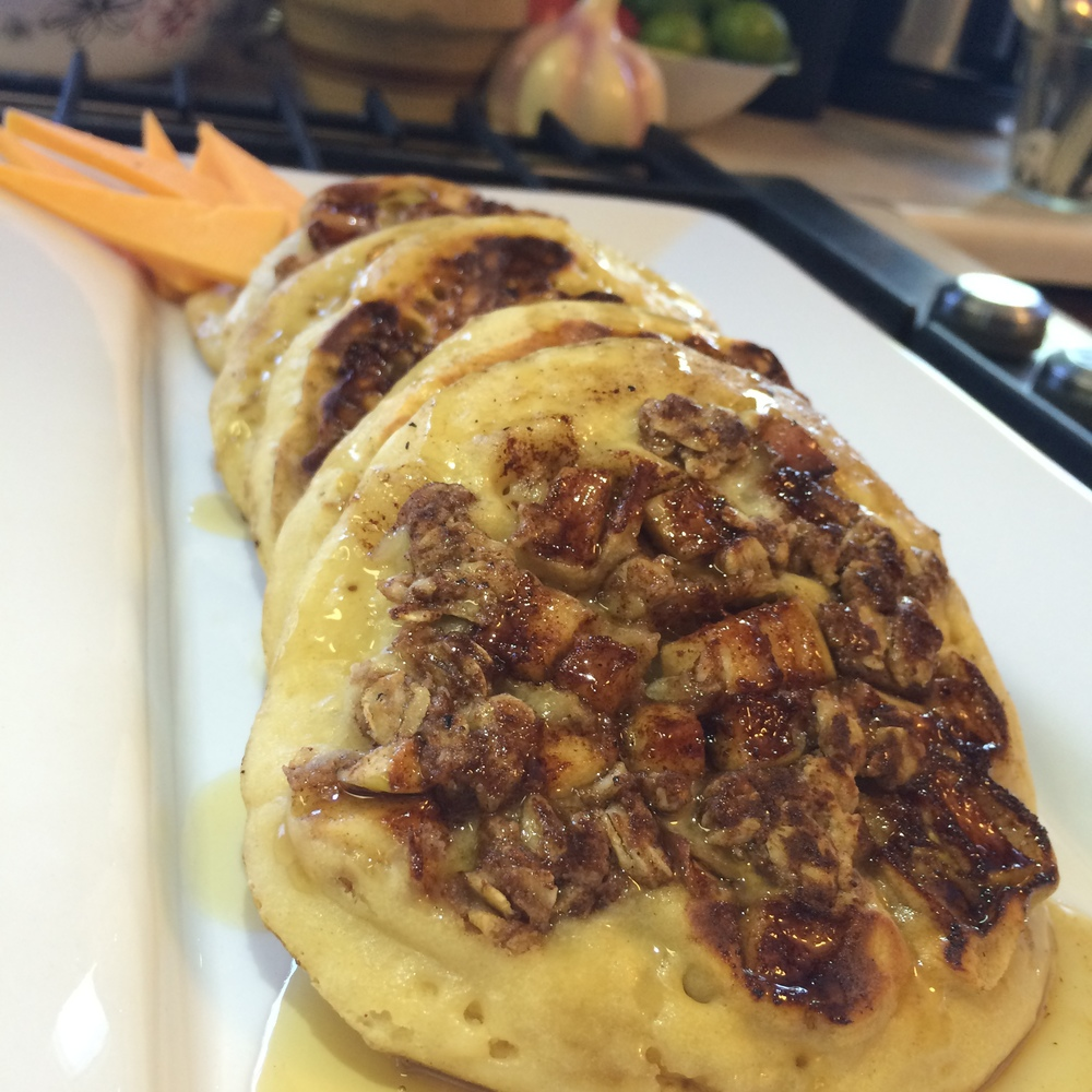 Apple Crisp, Pancakes, Pancake Ideas