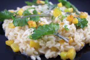 Risotto, Squash, butter nut, fall food