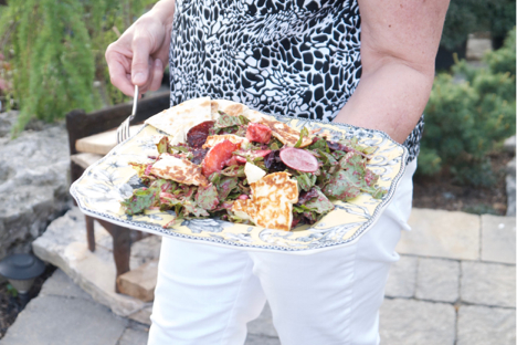 Sommelier savoury Summer salad, wine pairing