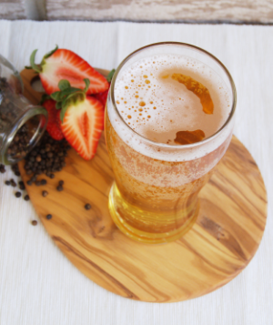 Peppered Strawberry Cider Recipe