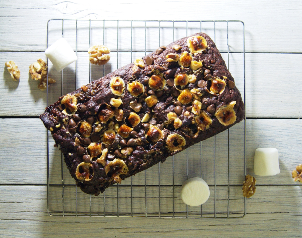Rocky Road Banana Bread