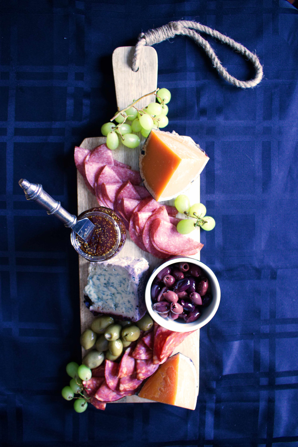Just 1 of many charcuterie boards we had Christmas Morning.