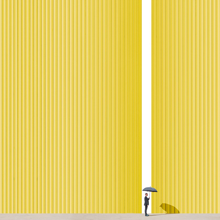 Between the lines (yellow)