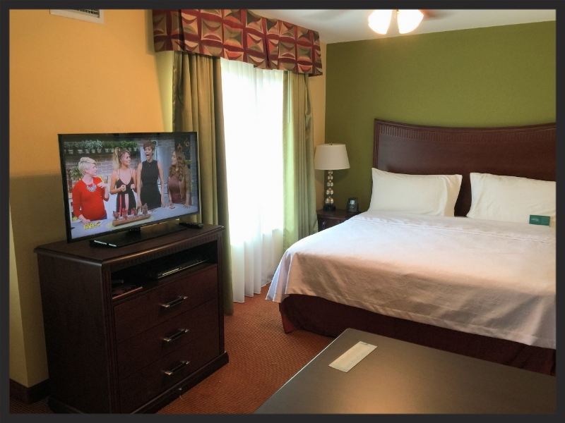 Homewood Suites Upgrade