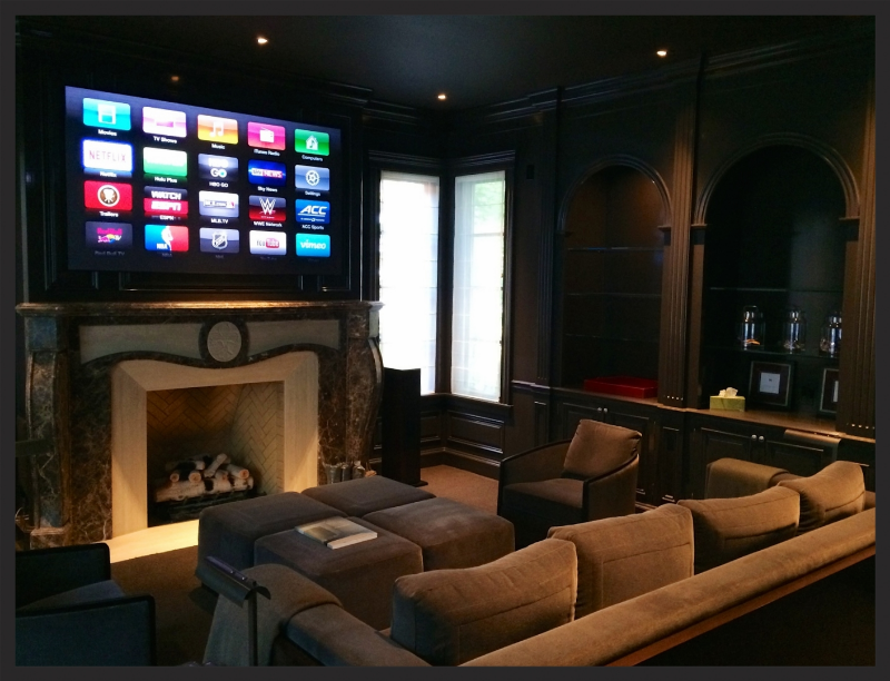 Screen Innovations Apple TV Home Theater