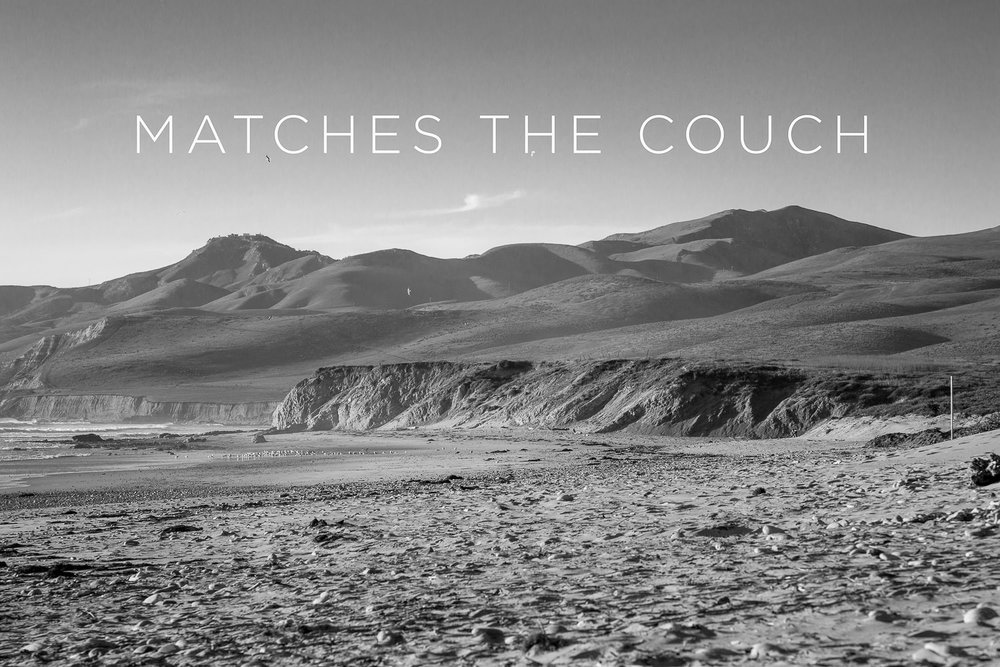 Matches Any Fucking Couch   2012, Signed Limited Edition of 20   CLICK HERE TO ORDER OR INQUIRE