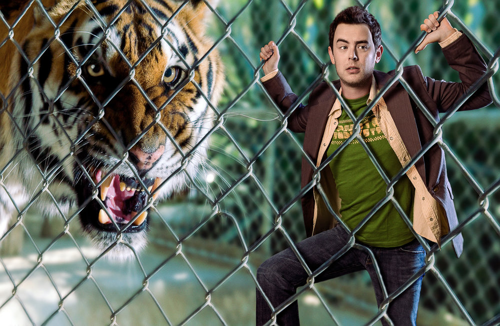 Colin Hanks — Caged    2005 Photocomposite Signed Limited Edition of 20    ORDER OR INQUIRE