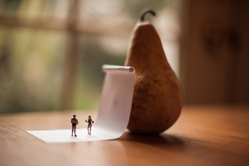Nice Pear  2013, Miniature. Digital Photograph. Signed Limited Edition of 20   ORDER OR INQUIRE