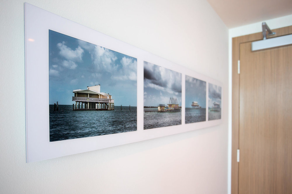 Stiltsville Diptych Four    Residential Installation Non-glare Acrylic mount. Signed Limited Edition of 20   ORDER OR INQUIRE