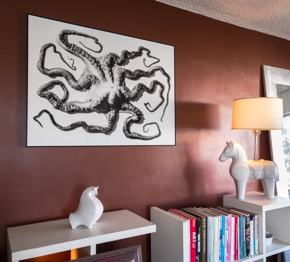 Octopus Untied, Number 1 — Installation Shown    1999 , Signed Limited Edition of 20   ORDER OR INQUIRE