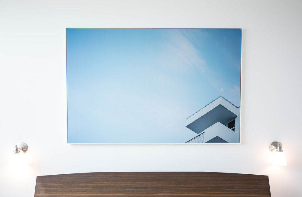 """You are Here #1    Image of the Building Exterior, Internalized 2017 66""""x45"""" Direct to Metal Print. SOLD   ORDER OR INQUIRE"""