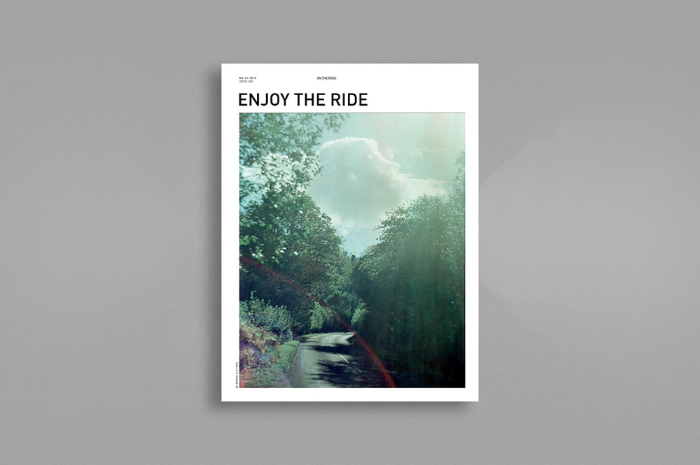 Front cover of this season's issue of Enjoy The Ride