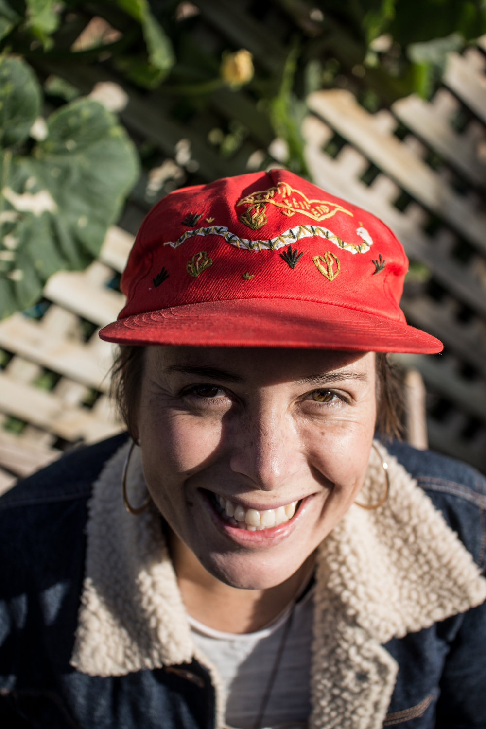 Jasper Leijs shot this one of me in one of my Get Wild hats the other day! Yew!! I still haven't taken this one off..