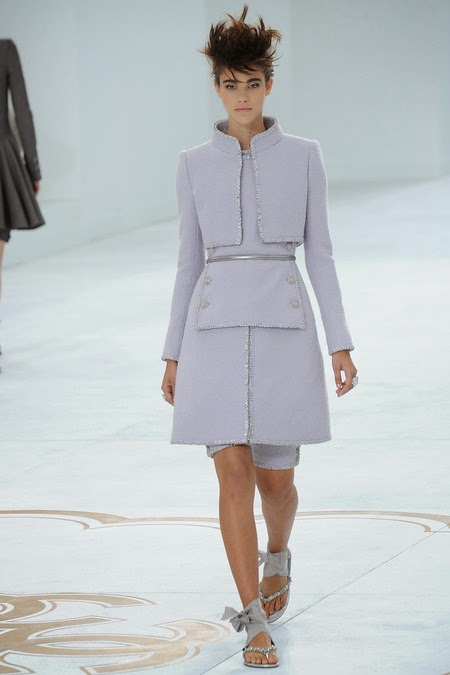 Chanel   - They killed it. I had to pick 2 of their looks.