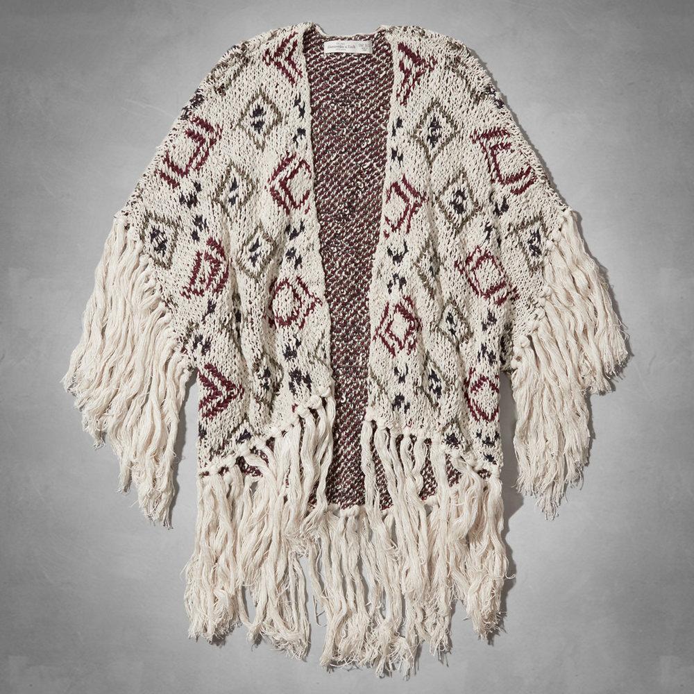 Kaela Fringe Kimono