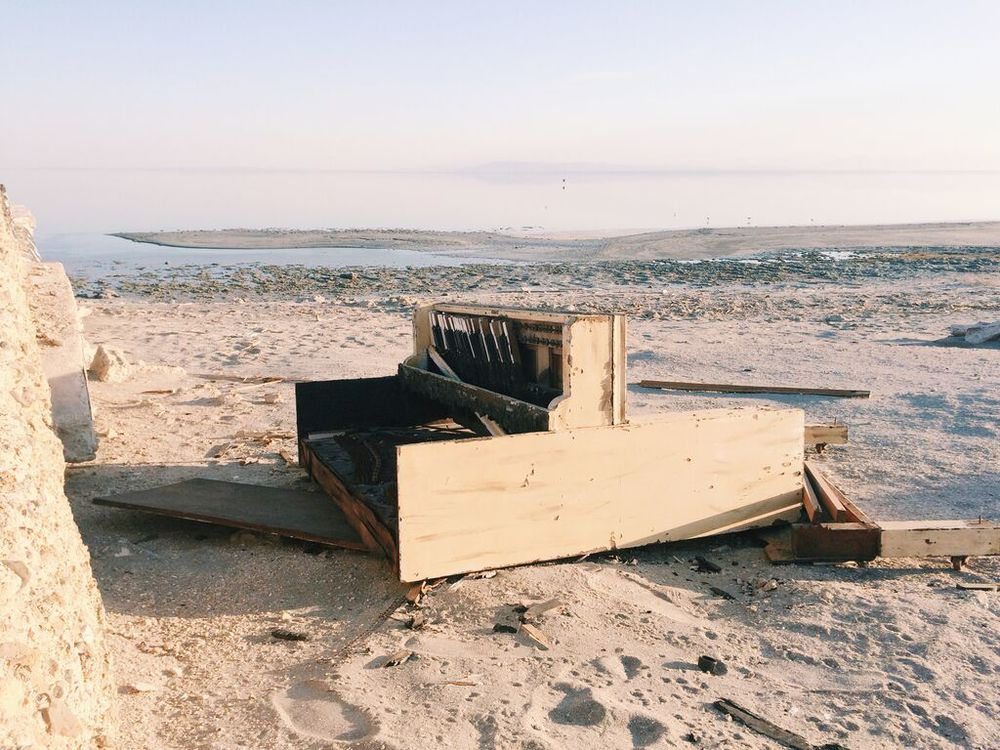 Bombay Beach at the Salton Sea