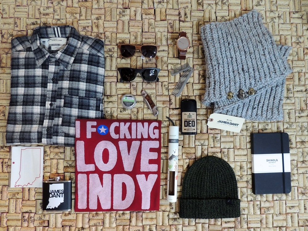"""From top left to bottom right:Flannel,District Ninety-One $80 