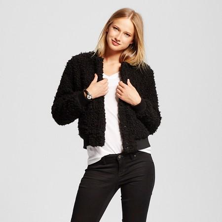 http://www.target.com/p/women-s-teddy-bear-bomber-jacket-who-what-wear/-/A-51366805