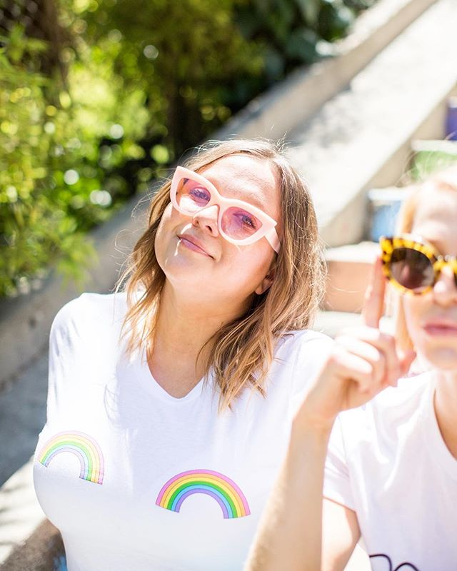 Somewhere over the 🌈 x 📷 @hellosaratramp
