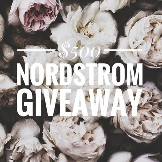 It's GIVE AWAY TIME! What better way to shop the Nordstrom Anniversary sale than by winning a $500 Gift Card?! I have teamed up with a group of amazing bloggers for this incredible contest!  To Participate:  1. Follow Me @marthaandlyuda  2. Like this photo.  3. Go to @lyudakusel next and repeat the steps 1+ 2 until you end up back here.  4. Once you are back here, comment  below and tell us what is on your #Nsale wishlist!  5. BONUS ENTRY: Tag 2 friends who you think would like to win! *Open to US + CANADA residents only! Contest ends 7/19 at 5pm ET. Winner will be announced via Instagram on 7/20 and receive a Nordstrom gift card via email. Winner must be following all accounts to be eligible to win! *This contest is in no way sponsored, administered or associated with Instagram, Inc. or Nordstrom. By entering, contestants confirm they are at least 18 years of age, release Instagram of responsibility and agree to Instagram's terms of use. GOOD LUCK!