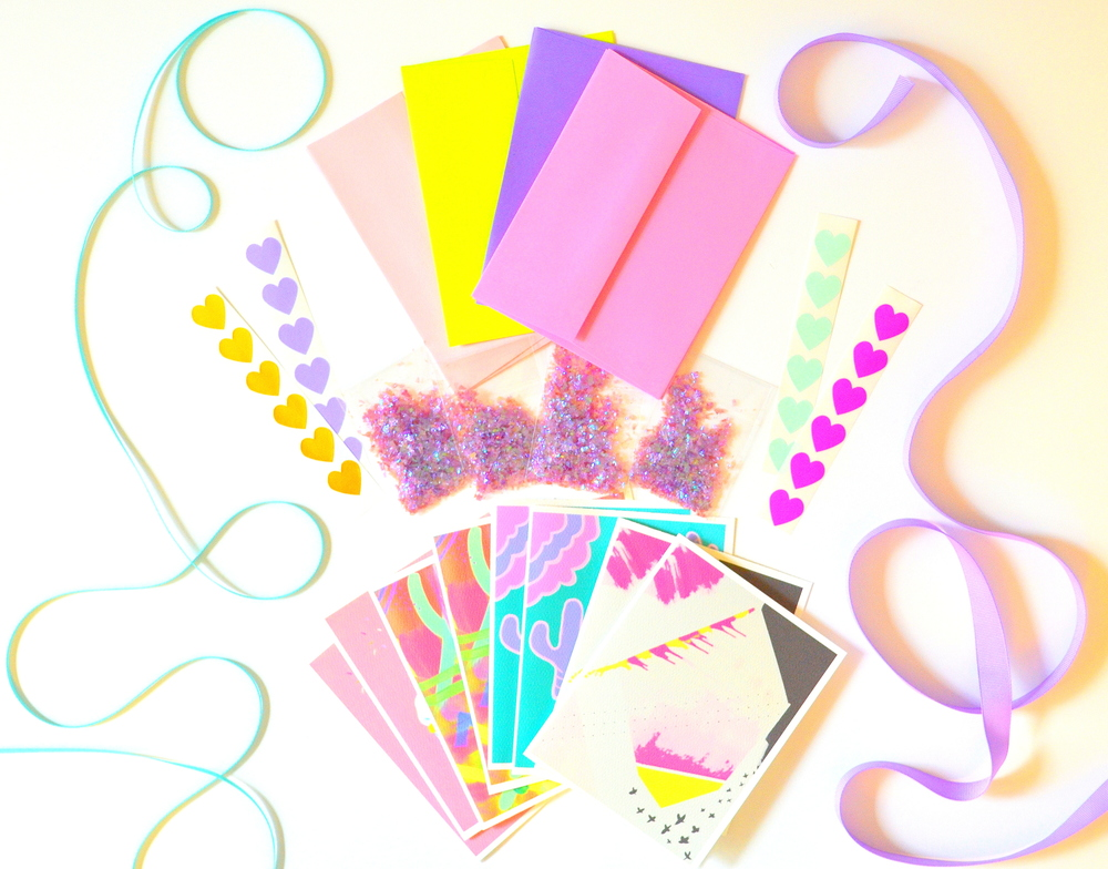 """Sweets for My Sweet"" Stationery Kit"