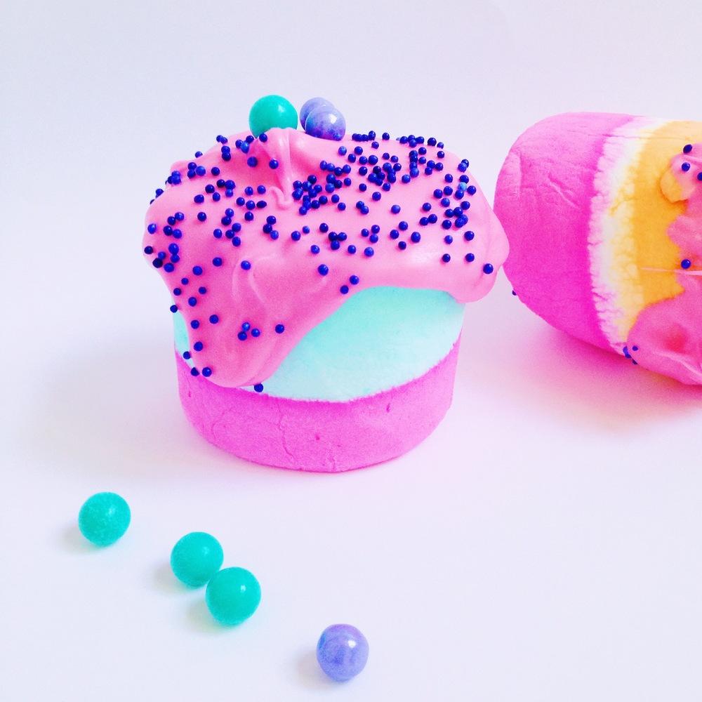 Technicolor S'mores Colored Marshmallow