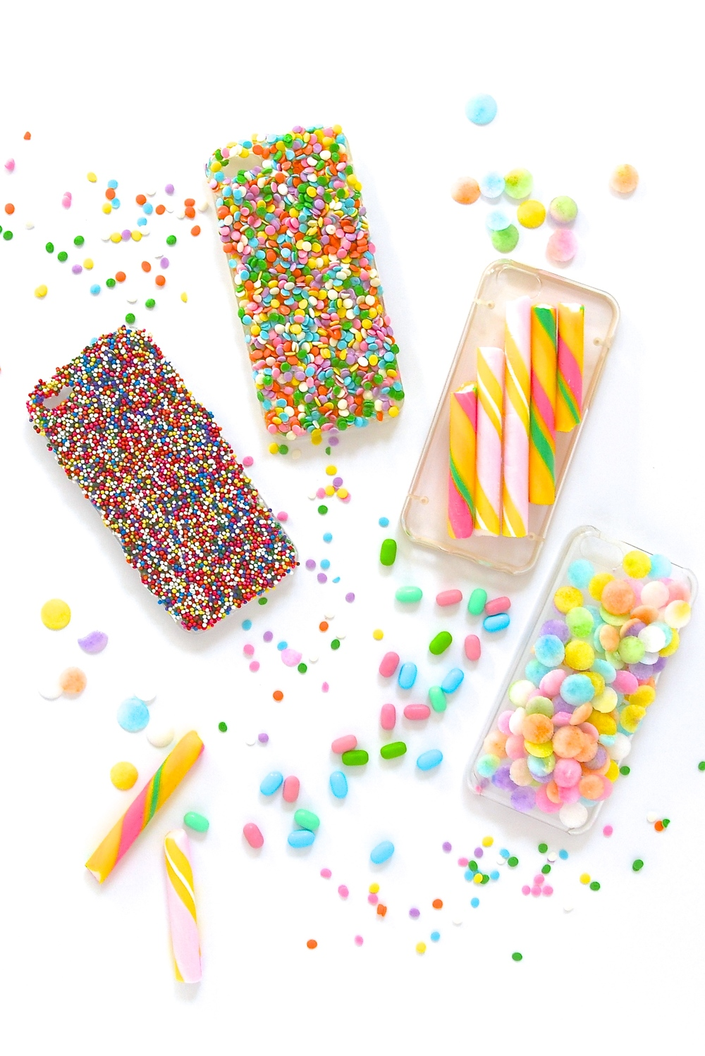 DIY Candy iPhone Cases Violet Tinder