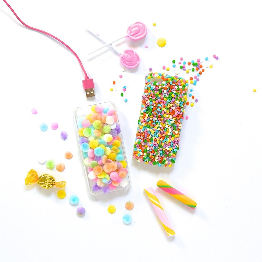 DIY Candy iPhone Case Violet Tinder