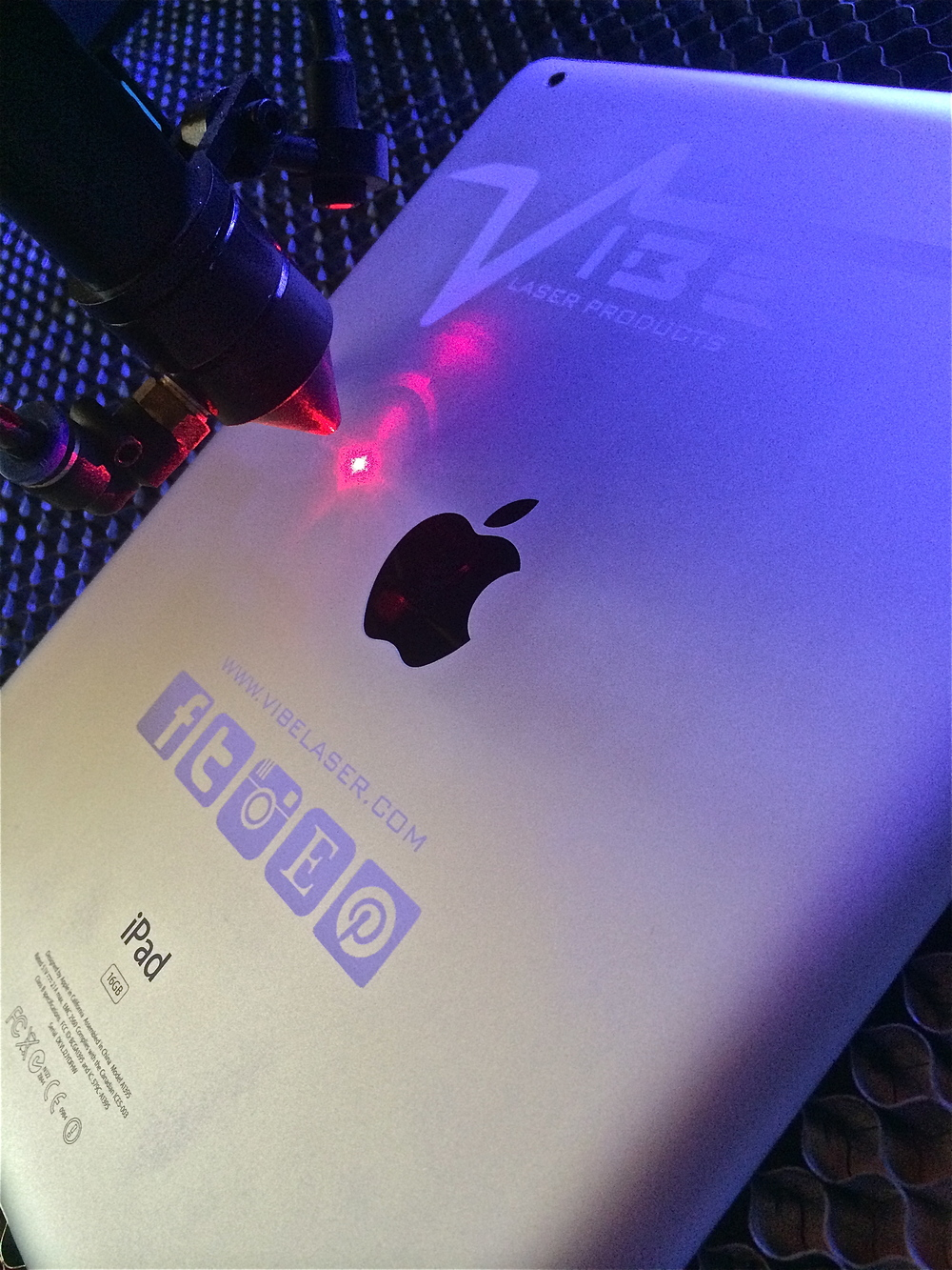 Custom Laser Etched IPad