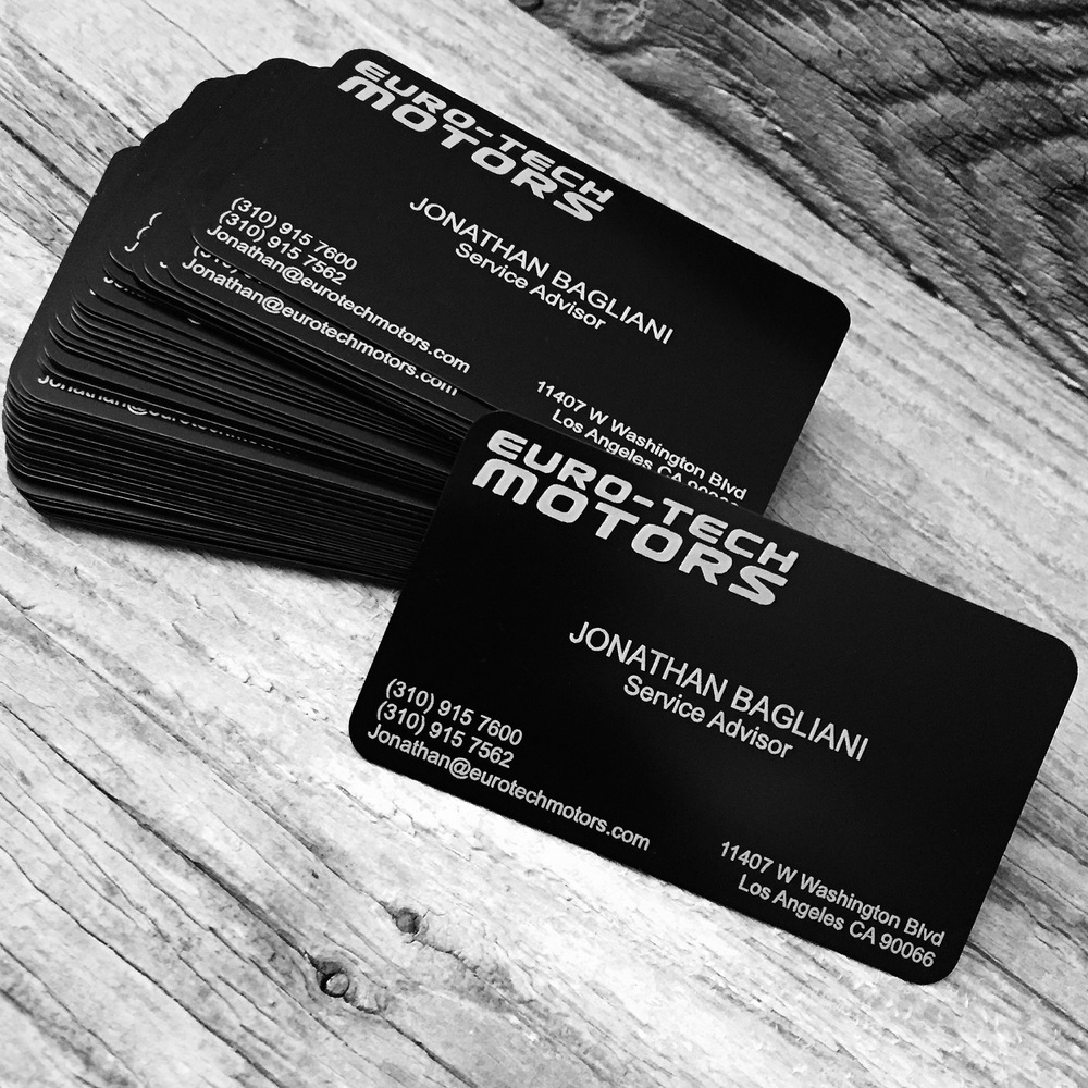 BUSINESS CARD\'S — VIBE LASER