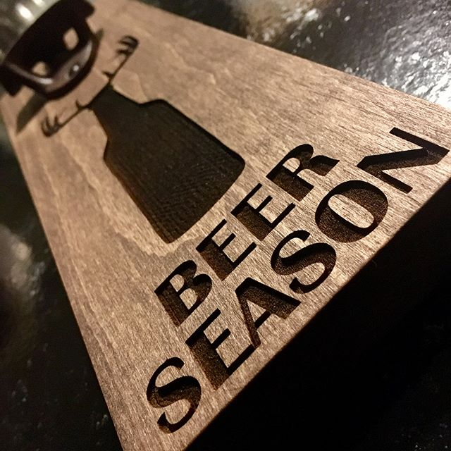 BEER SEASON is always in fully effect, check out this custom laser etched bottle opener. Designed with Neodymium magnets with a 50lb pull it can hold over 70+ Bottle caps. One of the strongest 💪🏼 in the game. Order yours now, any WOOD any DESIGN any STAIN @vibelaser #beer #beerbottlecaps #beerbottleopener #magneticbottleopener #beerseason #deer #deerseason #hunterxhunter #hunter #mnlove #woodworking #groomsman #groomsmen #groomsmangift #etsy #etsyshop #etsyfinds #etsyseller #etsysellersofinstagram
