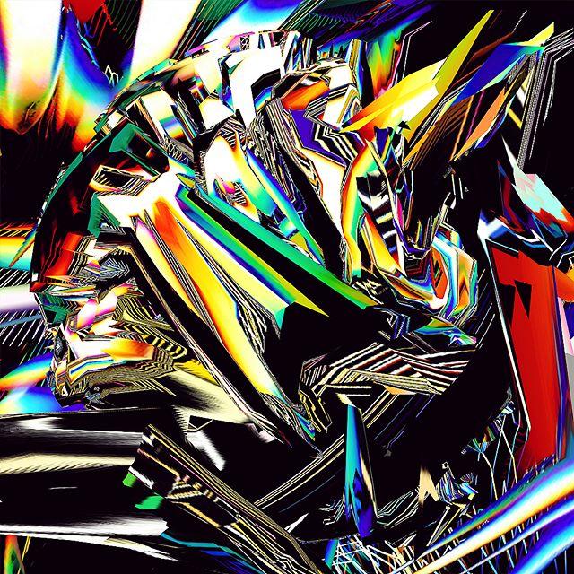 Empty space is a delusion. What we call space is in reality an energetic matrix Filled with information. --- El espacio vacio es un engaño, lo que llamamos espacio es una matrix energetica repleta de información. 🗝🌐👁 #artwork available #canvasart #artprint #antonellaarismendi #quantumphysics