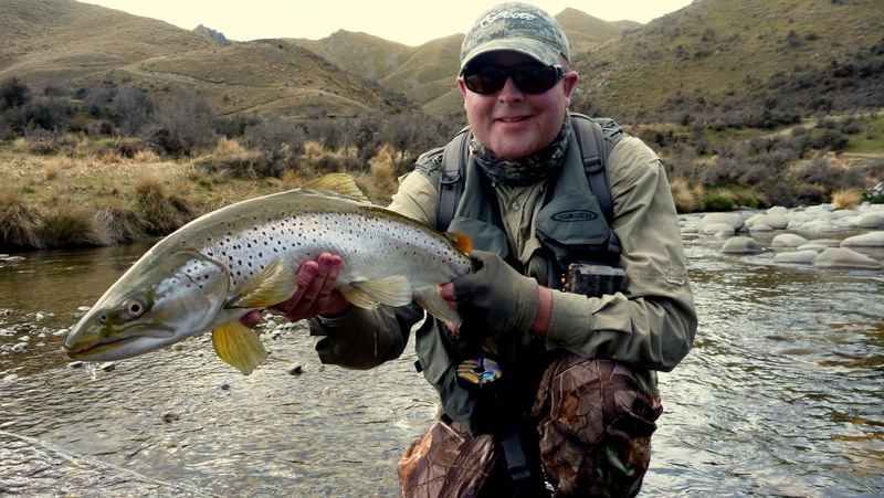 New Zealand Trout Fishing in the Mckenzie region