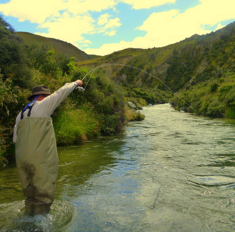 South Island of New Zealand fly fishing