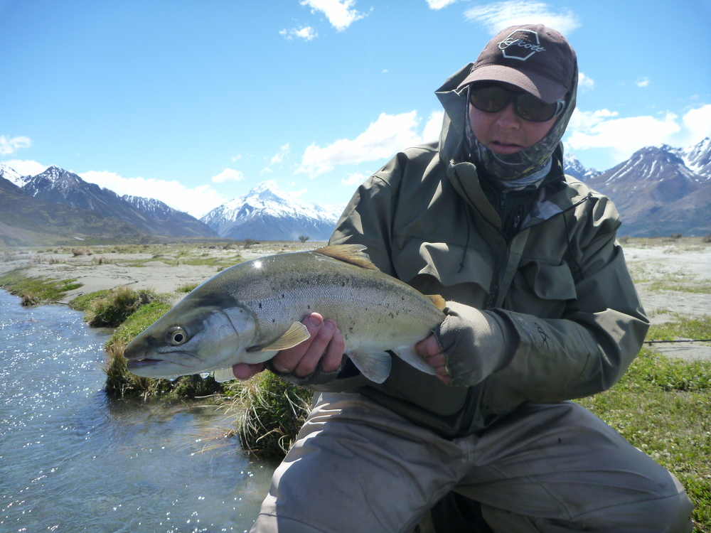 New Zealand trout fishing for trophy brown and rainbow trout.