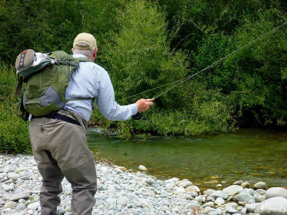 Dry fly fishing Southland river's and streams