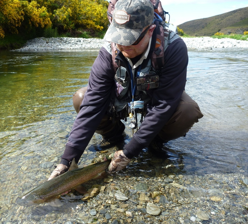 New Zealand trout fishing for Trophy Brown Trout