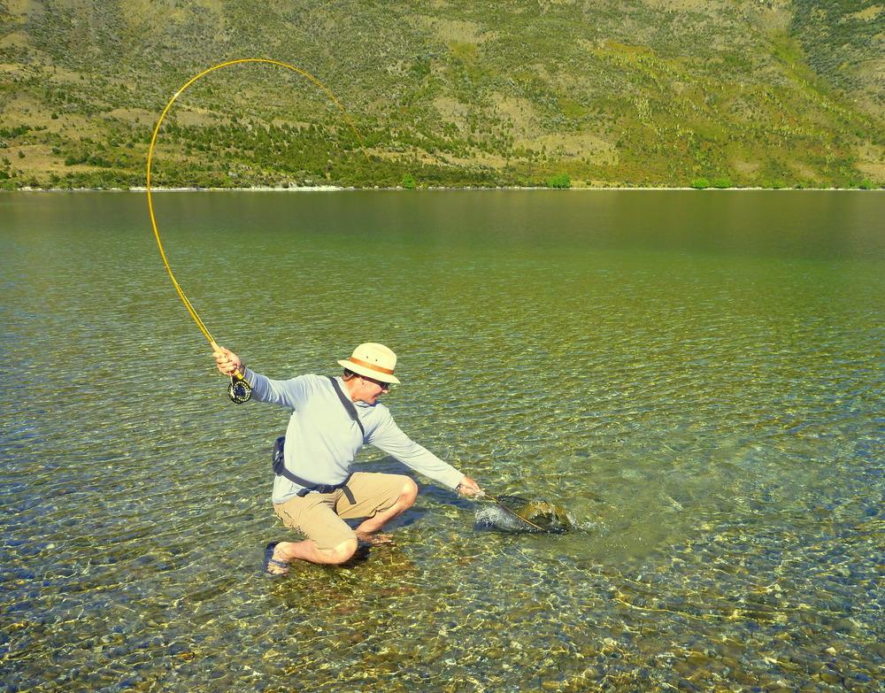 About lake wanaka fly fishing aspiring fly fishing lake for Fly fishing news