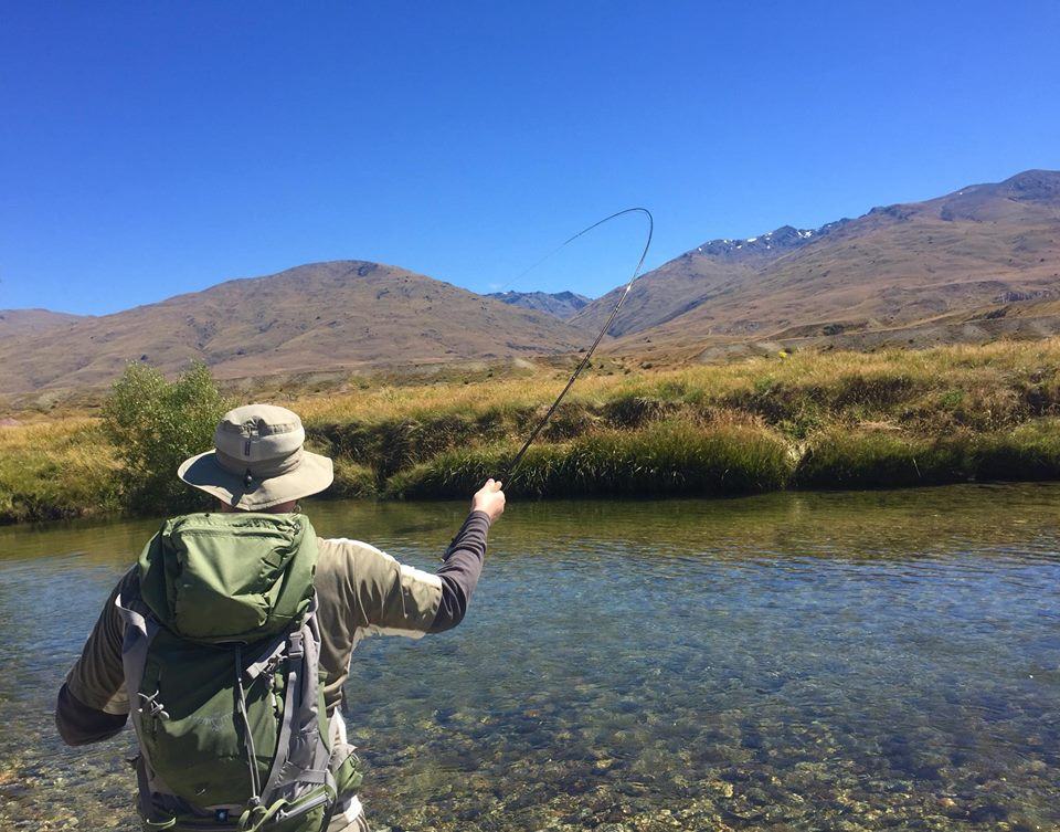 A week fly fishing new zealand with al aspiring fly for Fly fishing new zealand