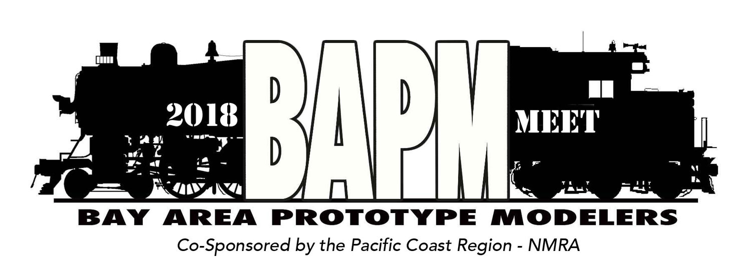 BAPM 2018 - The SF Bay Area Prototype Modelers Meet