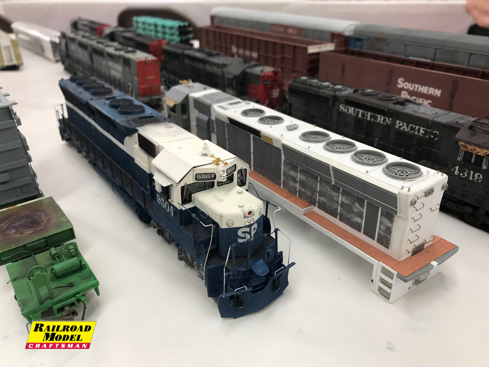 More Photos from BAPM 2018 - courtesy of Railroad Model Craftsman. Click above.