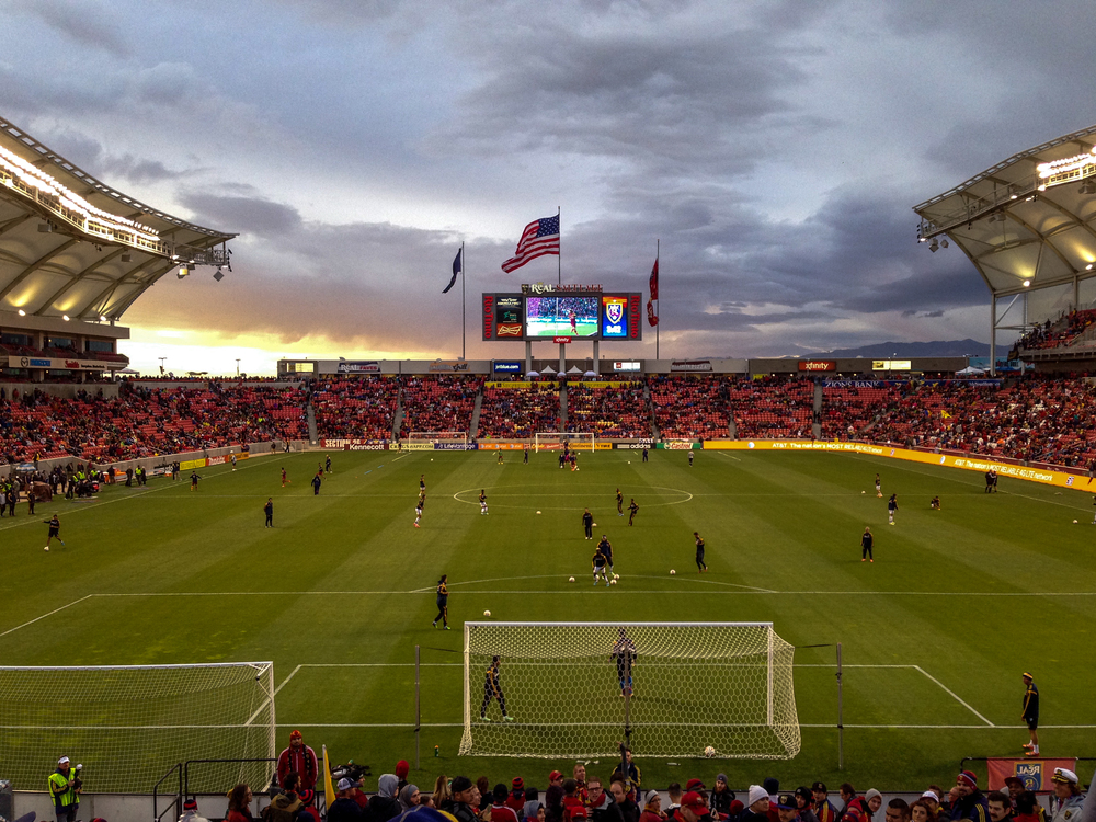 Real Salt Lake v. LA Galaxy / First leg, 0-0