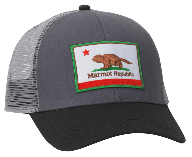 This cute  Marmot Republic hat