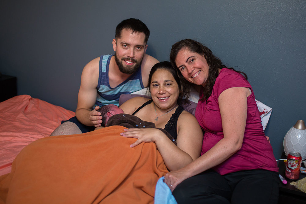 Jamie at Marissa's birth.  Austin doula.  Austin birth photographer.  Doula in Austin. Austin birth photography