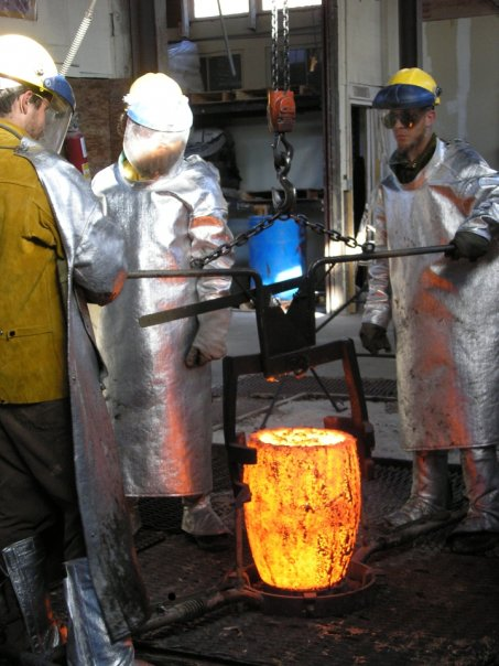 Bronze Casting at Odiyan Foundry