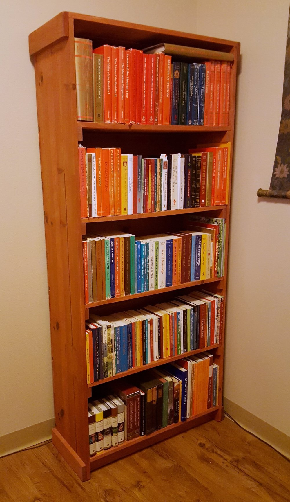 Book Shelf (2013) - Recycled Crate Wood