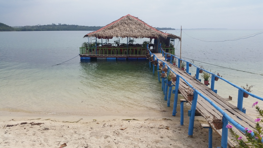 Floating Restaurant in Armada Resort