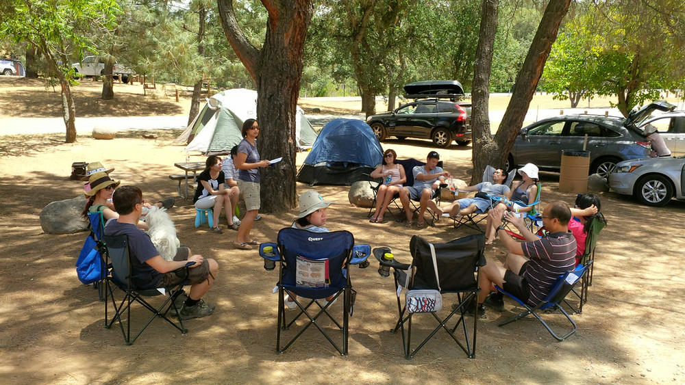 The Couples Fellowship ventures out for a weekend camping trip to get away from the day-to-day distractions and learn a little more about each other.