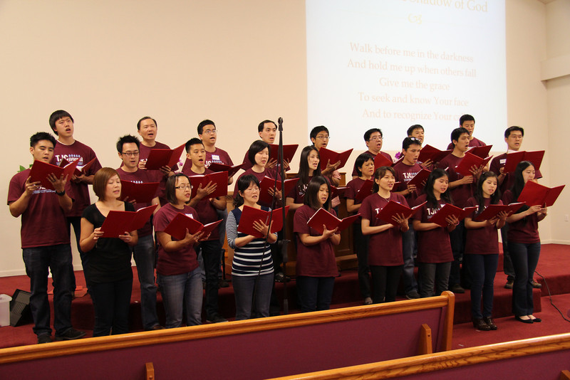 The Church Choir performs during the 2014 Hosanna.